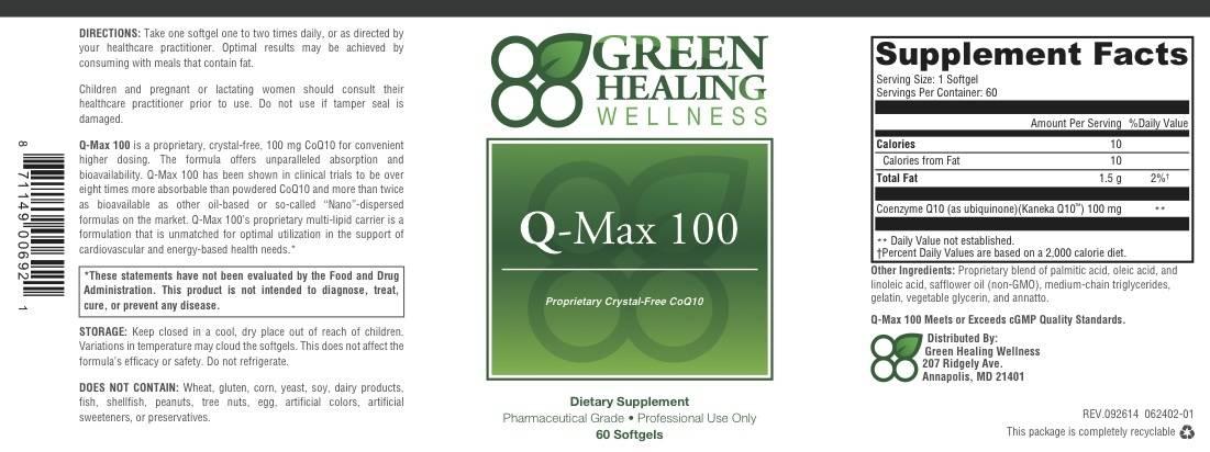 Q-Max Label