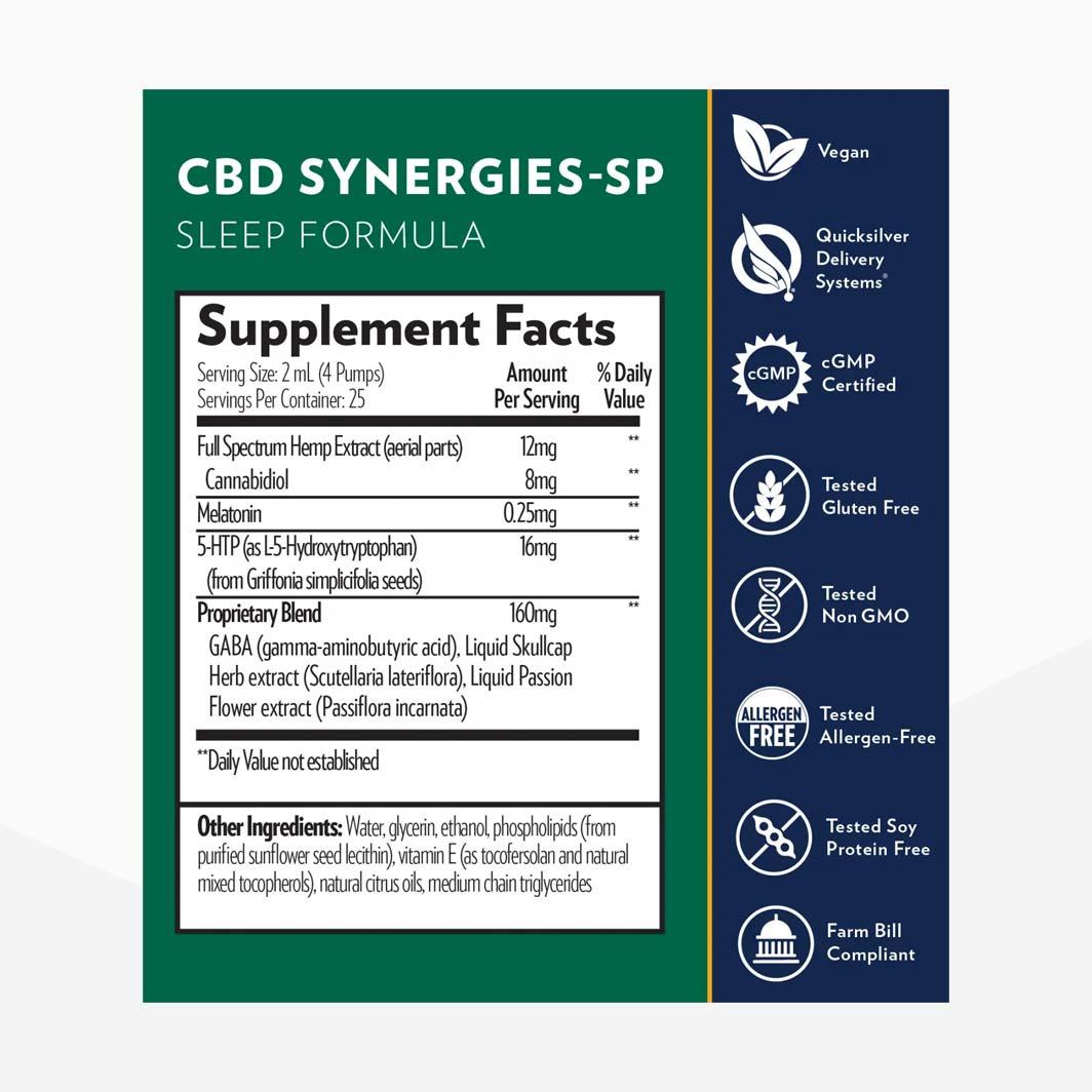 CBD Synergies SP Sleep Formula